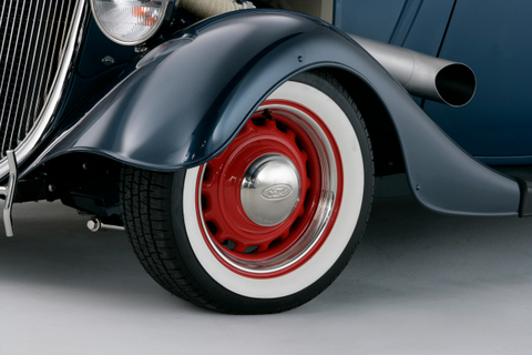 34 Ford Coupe Front Left