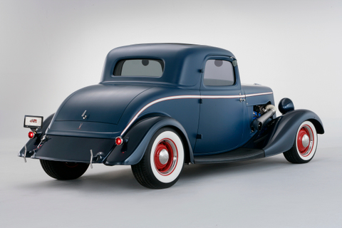 34 Ford Coupe Rear