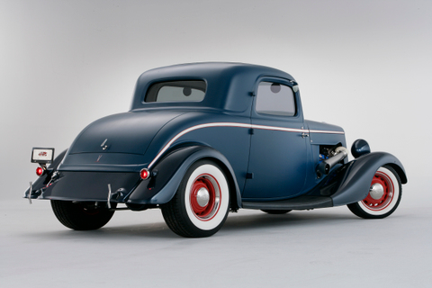 34 Ford Coupe Rear 2