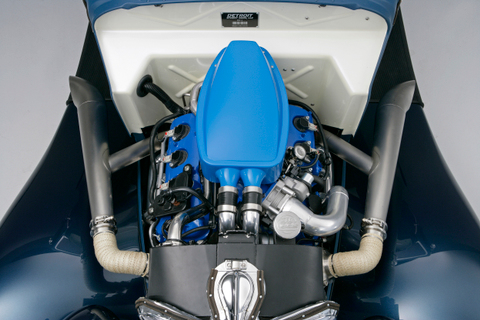 34 Ford Coupe Engine Overhead 2