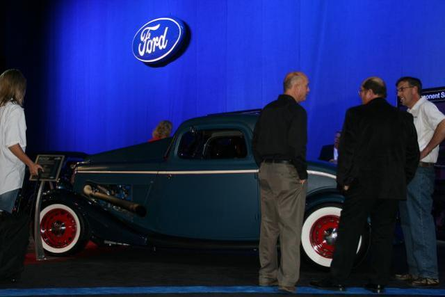 '34 at Ford Booth