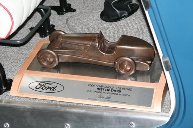 Award in Car