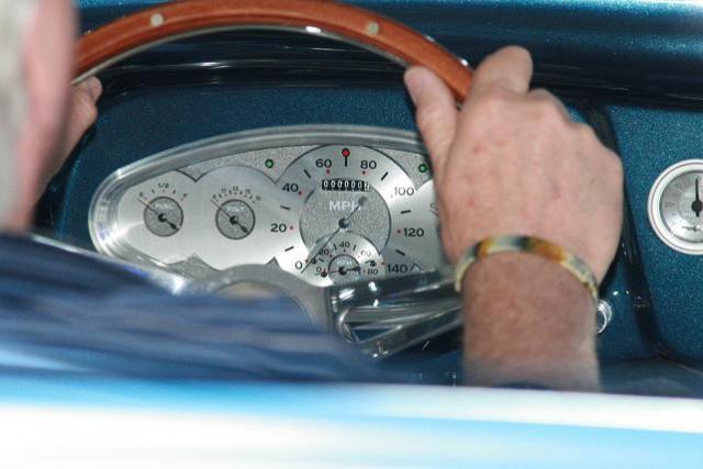 Bob at the Wheel